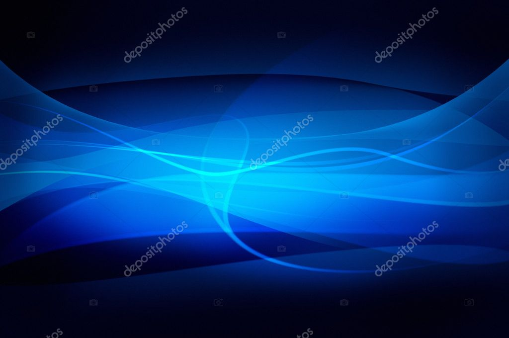 Abstract blue background, wave, veil or smoke texture - computer generated picture — Stock Photo #3477861