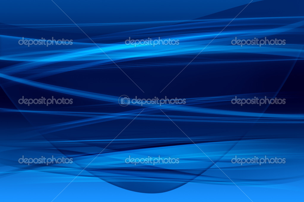 Abstract blue background, wave, veil, mesh or smoke texture - computer generated picture — Stock Photo #3478057