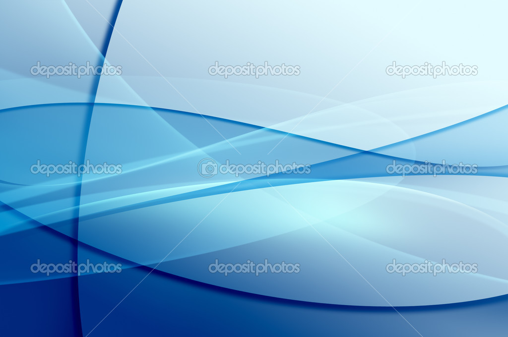 Abstract blue background, wave, veil or smoke texture - computer generated picture — Stock Photo #3478092