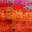 Abstract grunge paint - handmade for colorful wallpaper - Foto Stock