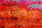 Abstract grunge paint - handmade for colorful wallpaper — Stockfoto