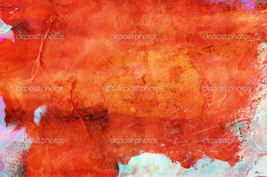 Abstract grunge paint - handmade for colorful background — Stock Photo #3600648