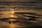 Arena y el mar — Foto de Stock
