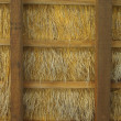 Straw roof structure — Stock Photo