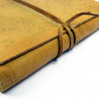 Stock Photo: Leather book detail 2