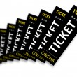 Royalty-Free Stock Photo: Cinema Tickets