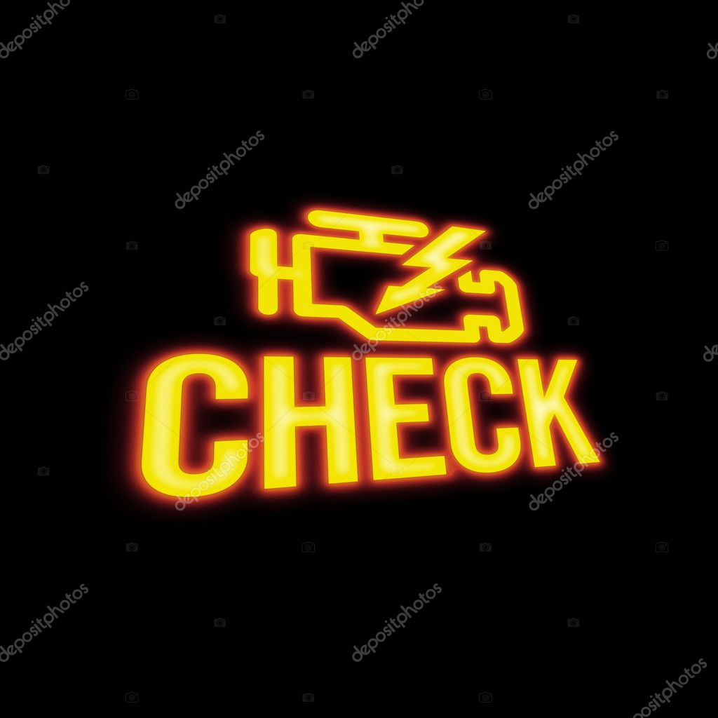 Check Engine Signal — Stock Photo #3128400
