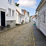 Stavanger Wood House — Stock Photo