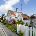 Stavanger Gamle — Stock Photo