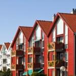 Stavanger Houses in the Lysefjord — Stock Photo