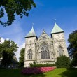 Stavanger Gothic Cathedral — Stock Photo