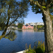 Stock Photo: Breiavatnet, the main Stavanger Lake