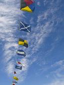 Nautical Flags — Stock Photo