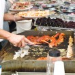 Bergen Fishmarket — Stock Photo