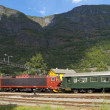 Stock Photo: Flam Railway
