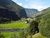 Village in the mountain — Stock Photo