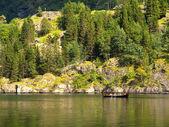 Viking Rowboat — Stock Photo