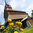 Kaupanger Viking Church — Stock Photo