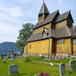 Urnes Stave Church - Stock Photo