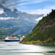 Royalty-Free Stock Photo: Geiranger Fjord, Norway