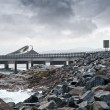 Atlantic Road — 图库照片