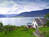 Panorama de noruega — Foto de Stock