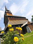 Kaupanger Viking Church — Stock Photo