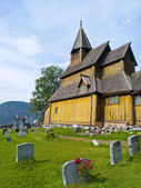 Urnes Stave Church — Stock Photo
