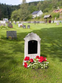 Tomb in Norway — Foto de Stock