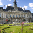 Hotel in the ville of Tours — Stock Photo