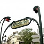 Paris Metropolitain Sign — Stock Photo #3182187