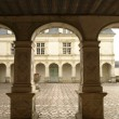 Stock Photo: Villandry Patio