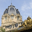 Palais de Justice and Conciergerie — Stock Photo