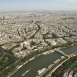 Paris from the Eiffel Tower — Stock Photo #3182392