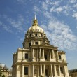 Les Invalides Hotel in Paris - 图库照片