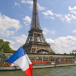 Eiffel Tower from Cruise — Stock Photo #3183275