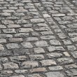 Stock Photo: Cobbled Road in Paris