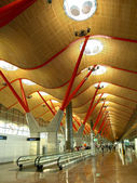 Barajas Airport, Madrid — Stock Photo