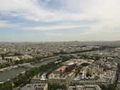 Paris from the Eiffel Tower — Stock Photo