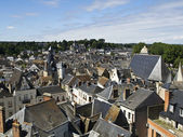 Amboise from the Castle — Stock Photo