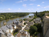 Amboise and Loire — Stock Photo