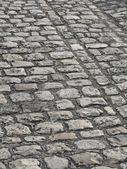 Cobbled Road in Paris — Stock Photo