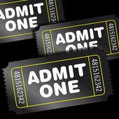 Cinema Tickets — Stock Photo