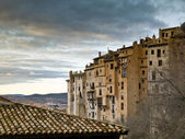 Architektura starych cuenca — Zdjęcie stockowe