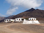 Desert Villas in Fuerteventura — Stock Photo