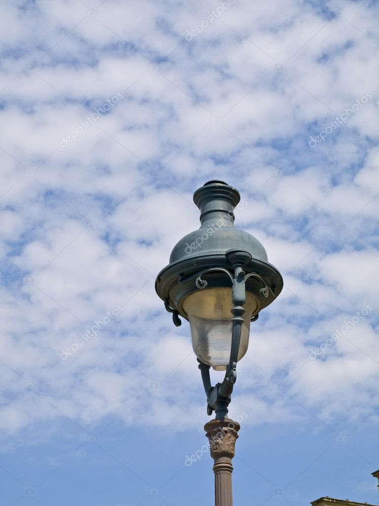 Old Parisien Streetlamp  Stock Photo #3183074