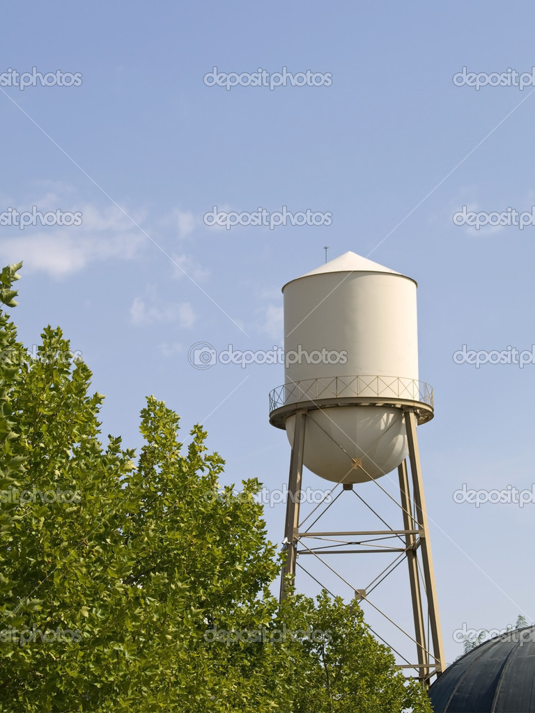 Old american granary  Stock Photo #3184052