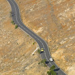 Fuerteventura desert roads - Stock Photo