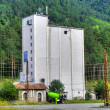 Silo in the Mountains — Stock Photo