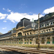 Canfranc Railway Station - Stock Photo